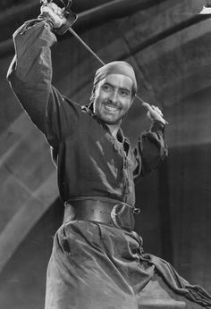 Tyrone Power.  I'm also a sucker for a pretty actor playing a pirate.