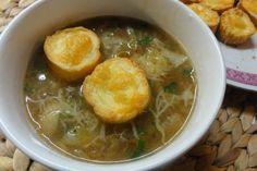 Jak uvařit polévku cibulačku   recept