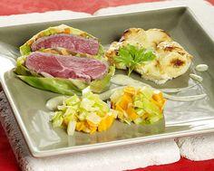 Verrassingspakketjes met lam en groenten