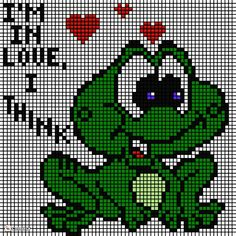 Needlepoint Patterns, Perler Patterns, Counted Cross Stitch Patterns, C2c Crochet, Canvases, Frogs, Adult Coloring, Mosaic, Babies