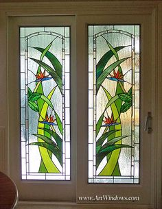 6363RessnerDoors492 Etched Glass Door, Stained Glass Door, Custom Stained Glass, Stained Glass Flowers, Stained Glass Designs, Stained Glass Panels, Stained Glass Projects, Stained Glass Patterns, Window Glass Design