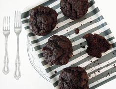 Chocolate Muffins #7: Why number seven? Because in order to bring you the best muffin recipe, we tested hundreds of different ingredient combinations and mixing methods and … well, OK, it was actually seven.