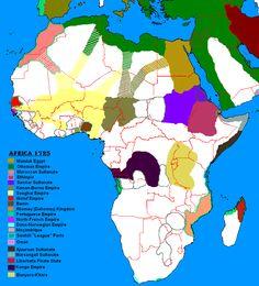 Africa 1725