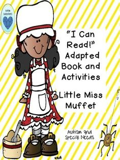 Poetry and nursery rhymes are a very motivating and engaging way to help young learners as they become better readers. This adapted book and activities from Autism Adventures will interest and challenge students with autism, special needs, or those just beginning to read in kindergarten with the many visual cues and a focus on reading comprehension.Included:Anchor Chart PoemLarge Matching Word Symbol CardsAnchor Chart with Symbols Mini Matching Word Symbol Cards Adapted Book Matching Picture ...