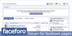 Crea un foro en tu  Pagina de Facebook