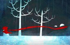 """Little Red Riding Hood"" by 小鼬Koyo"