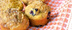 This pumpkin muffin recipe makeover uses Greek yogurt to help reduce fat while still keeping these treats moist — and under 100 calories!