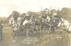 Coronation, #Yateley #Hampshire 1911