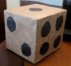 make your own larger than life dice. could probably substitute white paper bags for the brown suggested in the post-good for a game room or kids. Definitely need to look at recreating maybe theres a box at work I could grab cover and paint Diy Carnival Games, Diy Games, Party Games, Trunk Or Treat, Carnival Birthday, Camping Crafts, Make Your Own, First Birthdays, Crafts For Kids