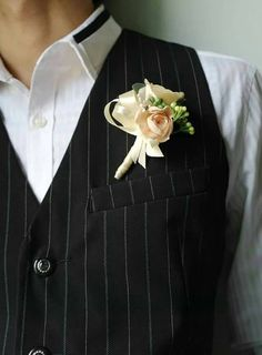 Check out this item in my Etsy shop https://www.etsy.com/listing/236002603/groom-boutonniere-groom-corsage