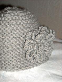 """Tuto du bonnet """"Fleur d""""hiver"""""""