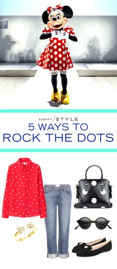 National Polka Dot Day is January 22, (and the Disney and Refinery29 event Minnie Rocks the Dots) and we have all things spotted and dotted on the brain. Check out all of our Rock the Dot outfit ideas over at Disney Style!
