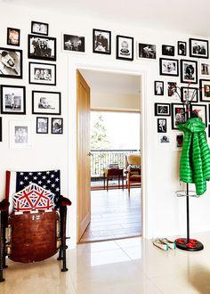 Inside an Interior Stylist's Eclectic Modern Townhouse via @MyDomaine