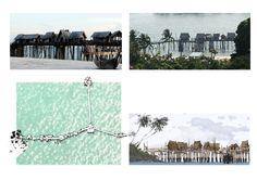 Singapore, Sentosa Island . Design for resort show . 2007