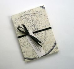 French sky chart accordian fold picture album... I want one (or several) for all the places I travel to!