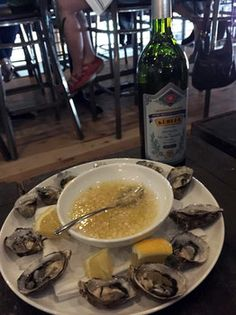 Absinthe and Oysters at Under Current #SLC