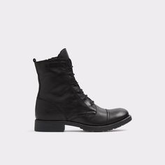 Bentzen Military inspired with an 80's punk state-of-mind, these combat boots are the perfect compliment to your rebellious side.