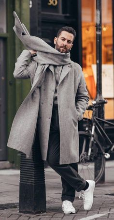 10 Mens Fashion Style Outfits for Winter