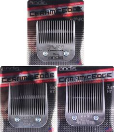 Andis Ceramic Edge Clipper Blade 3 3/4FC 5/8HT & 3/4HT CeramicEdge Grooming NEW #Andis