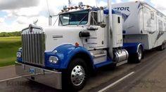 Dually Trucks, Kenworth Trucks, Big Rig Trucks, Truck Camper, Semi Trucks, Cool Trucks, 5th Wheel Camper, Trailers, Audi 100