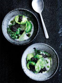 Kål med caviar og sago