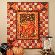 I like the simplicity but a little too many squares...and change the welcome to Give Thanks