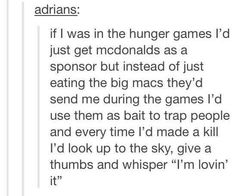 40 Funniest Tumblr Memes From Around The WEB - Disqora Funny Quotes, Funny Memes, Jokes, Game Quotes, It's Funny, Fangirl, Jenifer Lawrence, Funny Tumblr Posts, Mockingjay