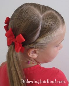 Pig Tails & Wrapping Twists from Babes In Hairland