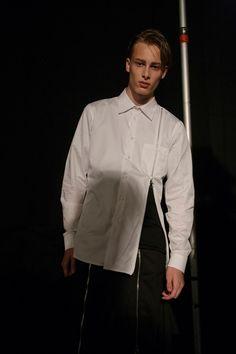 Christopher Shannon, LCM, SS16, menswear