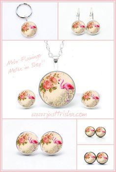 Wunderschöne Flamingo Schmuckstücke. -> Ohrstecker ab 6mm - 14mm Größe -> passend auch Hänger oder Ringe -> ab 30€ Versandkostenfrei -> Erstelle noch heute dein Kundenkonto u erhalte einen 10% Rabattgutschein Noch mehr tolle Flamingo Motive findet ihr im Shop. Handmade Art, Pendant Necklace, Shopping, Jewelry, Jewelry Shop, Bangle Bracelet, Stud Earring, Things To Do, Handmade