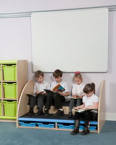 Trudy Storage Step. Helps Children Reach Up To Whiteboards/pinboards And  Great For Reading
