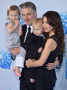 Photos of the real 'Boss Baby': Alec Baldwin's son