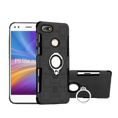 e4a038d9e Purchased Geometric Design TPU + PC Hybrid Case with Magnetic Kickstand for  Huawei P9 lite mini / Y6 Pro (2017) / Enjoy 7 - Black