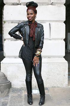 London Fashion Week style Beverly Animadu