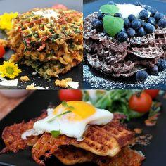 Saaranlautasella: TÄYDELLINEN VOHVELIVIIKONLOPPU, aamupalaksi, louna...