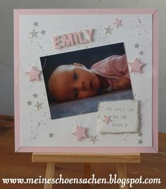 New Baby Cards, New Baby Gifts, Craft Projects, Projects To Try, Stampin Up, New Baby Products, Card Making, Kids, Scrabble