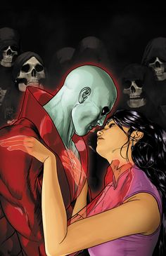 Justice League Dark n°21. Cover by Mikel Janin.