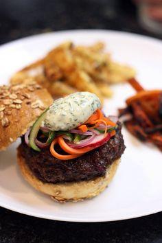 Hamburger de pernil