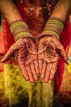 I love how Morocco and India, among others, share Henna in common, underlines the Spice Route as a highway of ideas as much as anything.