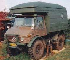 Unimog camper. Love to have one