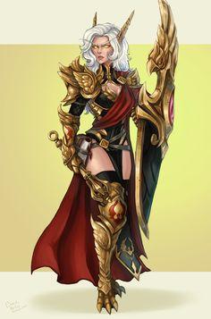 Sidrel by Chloe Ince : ImaginaryAzeroth Warcraft Art, World Of Warcraft, Chloe, Elf Art, Blood Elf, Ajin Anime, High Elf, Fantasy Art Women, Thing 1