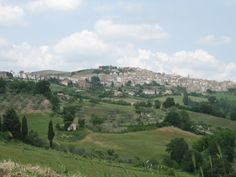 The beautiful hill town of Casacalenda in the provincce of Campobasso, in the Molise region of Italy