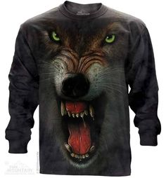 Big-Face-Angry-Wolf-Long-Sleeve-T-Shirt.jpg (743×800)
