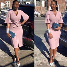zulu traditional attire 2019 for black women - shweshwe African Attire, African Fashion Dresses, African Dress, Fashion Outfits, African Women Fashion, Fashion Ideas, Zulu Traditional Attire, South African Traditional Dresses, Classy Dress