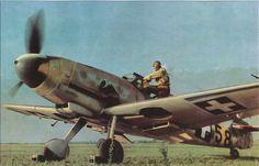 A Messerschmitt Bf-109 G2 in Hungarian service and livery
