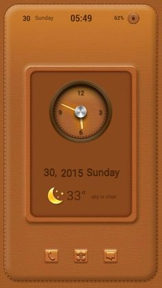 [Homepack Buzz] Check out this awesome homescreen! mrsaal leather theme all.... thanks