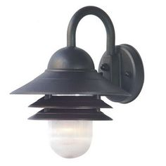 Acclaim Lighting�Mariner 13.5-in H Matte Black Motion Activated Outdoor Wall Light