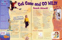 Go Magazine by Jenny Rhodes, via Behance