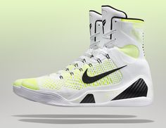 KOBE 9 WHITE Hi 26999 Nike Kobe 9 Elite Pre Launch Colorways