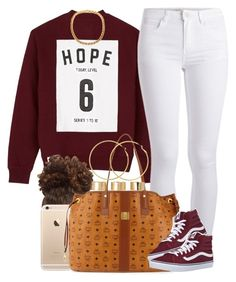 """""""Hope 6. """" by livelifefreelyy ❤ liked on Polyvore featuring Studio Concrete, Pieces, MCM, Vans, ASOS and Melissa Odabash"""
